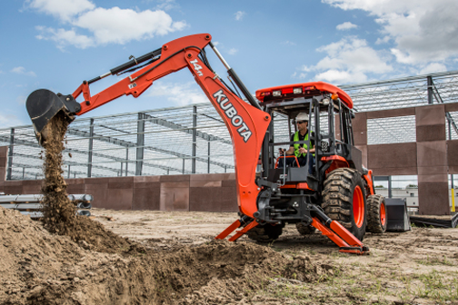 Two New Backhoe Models from Kubota