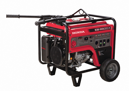 New Cyclone Air Cleaner, Generator Enhancements from Honda
