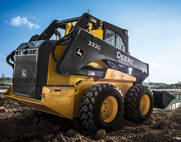 Telematics option for skid steers, track loaders
