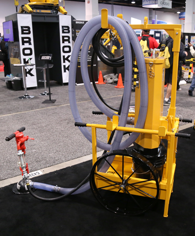 Dust collection cart for handheld drills - Pro Contractor