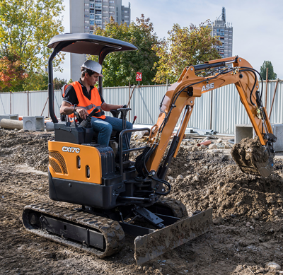 New Case mini excavators - Pro Contractor Rentals