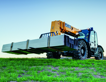 10,000-lb. capacity telehandler without outriggers