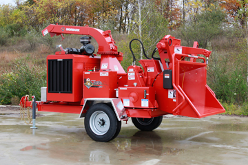 Morbark compact chipper