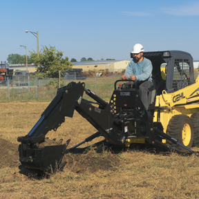 EDGE backhoe