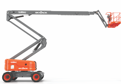 SJ85 articulating boom lift