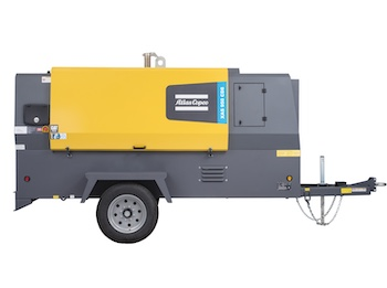 Atlas Copco XAS 950 portable air compressor