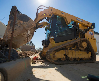 Cat D3 Series compact track loader