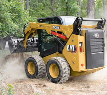 Cat D3 series skid steer loader