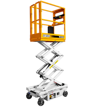 Custom Equipment Hy-Brid PA-130 push-around personnel lift