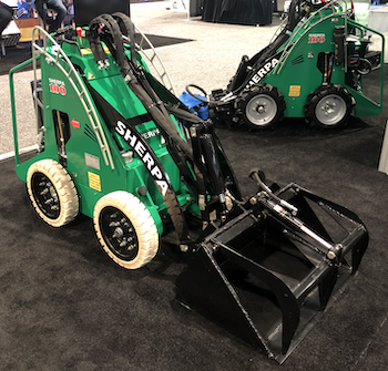 Sherpa electric skid steer loaders
