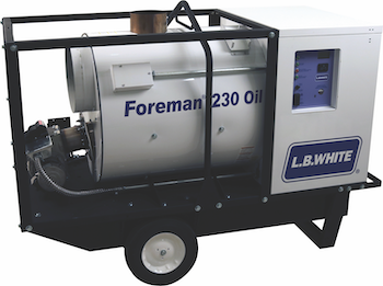 L.B. White Foreman 230 indirect heater