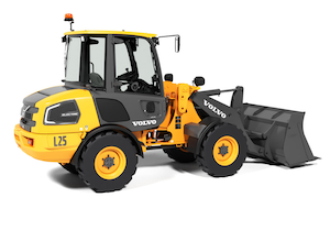 Volvo electric wheel loader