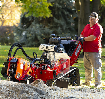Barreto 37SGB track stump cutter