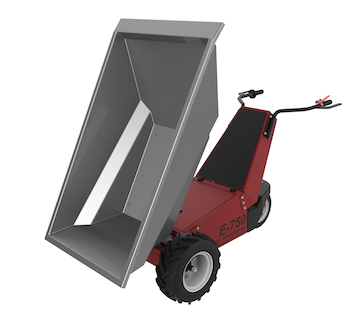 Power Pusher electric wheelbarrow