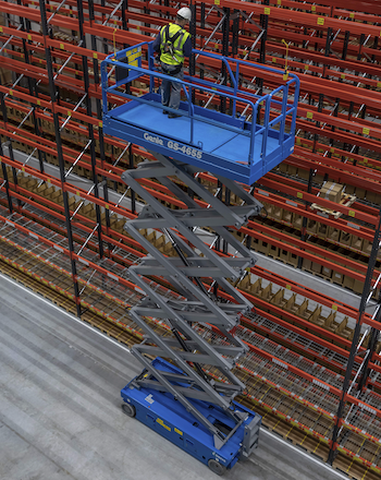 Genie GS 4655 slab scissor lifts
