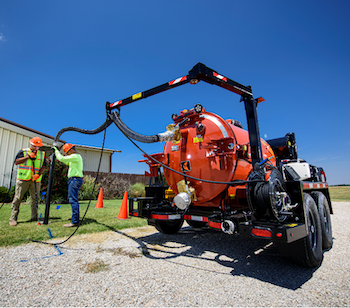 Ditch Witch HC30G vacuum excavator