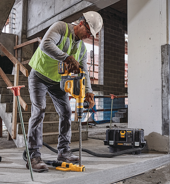 DeWalt cordless combination hammer