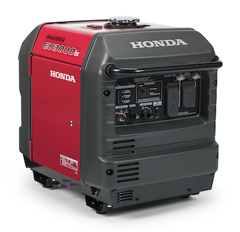 Honda generator with CO-Minder technology