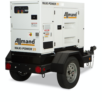 Allmand Bros. Maxi-Power 25 generator