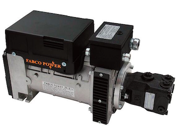 Fabco Power hydraulically powered generator for lifto