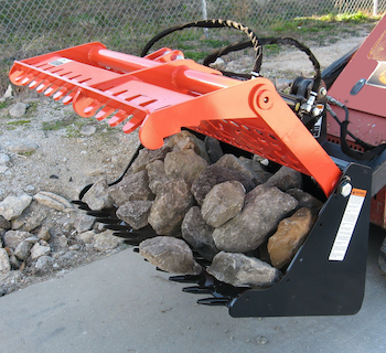 SitePro SARG grapple
