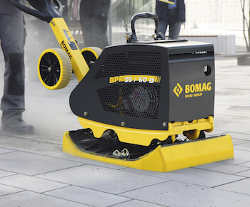 Bomag BPR compactor with Stoneguard