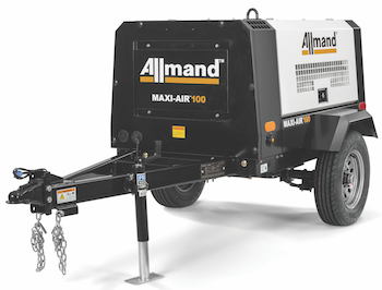 Allmand Maxi-Air 100 compressor