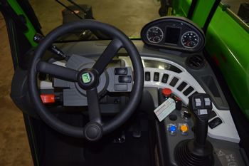 Merlo Turbofarmer dashboard