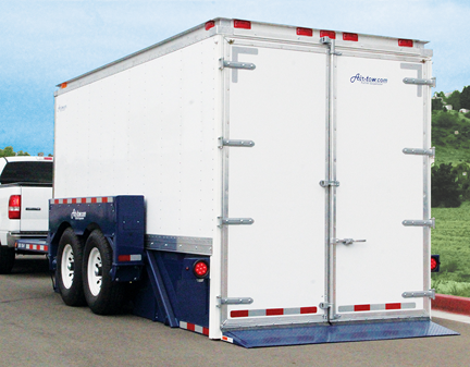 Rock Line Products drop-deck trailer