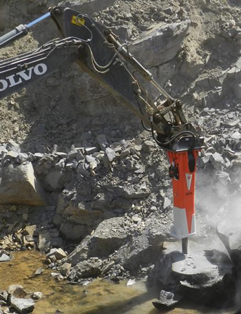 Volvo partners with Allied for breaker attachments