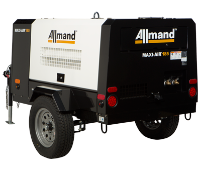 Allmand Maxi-Air 185 compressor