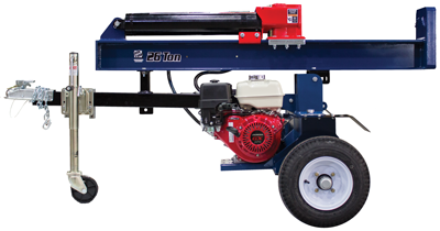 Iron & Oak's new 26-ton log splitter with torion axle