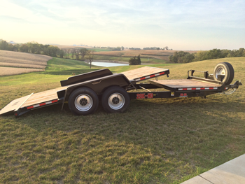 Behnke tube tilt trailer