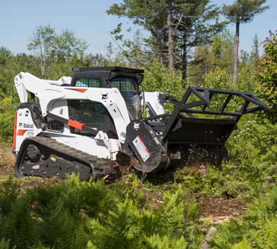 Bobcat 70-inch forestry attachment