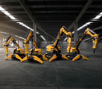 Brokk SmartConcept demolition machines