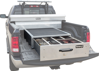 Buyers Products slide-out truck bed box