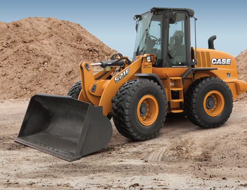 case 521`f wheel loader
