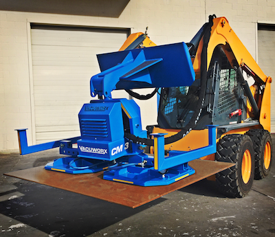 Vacuworx CM 3 lifting attachment