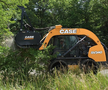 Case Mulcher attachment