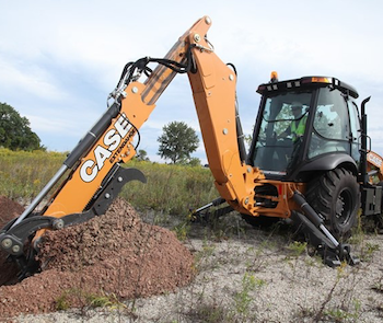 Case N series backhoe loader with enhancements