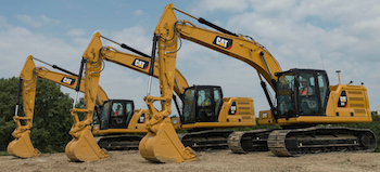 Cat Next Generation 20-ton excavators