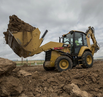 Cat 440 backhoe loader