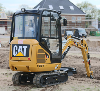 Cat 301.7D CR mini excavator