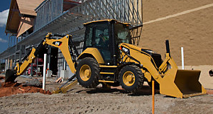 Cat F2 series backhoe loaders