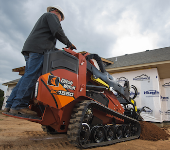 Ditch Witch SK 1550 compact track loader