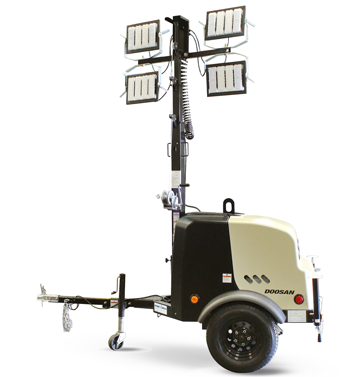 Doosan LCV light tower