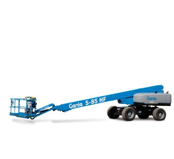 Genie high-flotation boom lifts
