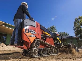 Ditch Witch SX600 with Harley rake