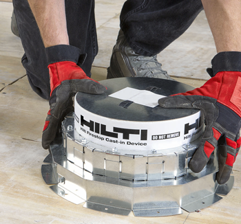 Hilti casting sleeves