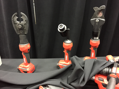 New Hilti electrician's tools